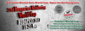 05_Венгрия_Плакат 23rd Hungarian Kickboxing World Cup 201705 Vengriya Plakat  -