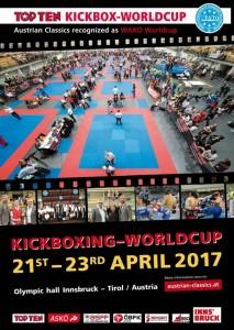 Poster Austria Austrian Classic Кубок Світу з кікбоксингу WAKO 2017Poster Austria  -