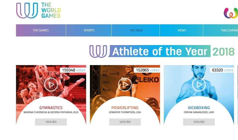 orfan-sananzade-iwga-2018-rating Український кікбоксер увійшов у трійку кращих спортсменів світуorfan sananzade iwga 2018 rating -